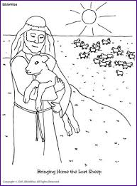 Small Picture the little lost sheep coloring page the lost sheep coloring pages