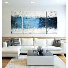 3 pc canvas wall art set hand painted pieces free