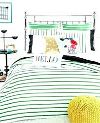 kate spade bed sheets spade duvet cover bedroom set new harbour stripe picnic green comforter and kate spade bed sheets spade duvet covers