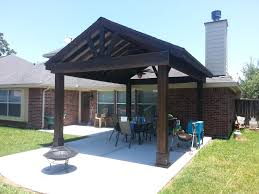 free standing patio cover. Beautiful Free Standing Stained Wood Gable Patio Cover (Outdoor Canopy) O