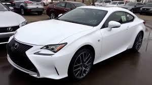 lexus 2015 rc white. Exellent Lexus New Ultra White On Red 2015 Lexus RC 350 2dr Cpe AWD  F Sport Series 1  Review West Edmonton YouTube Inside Rc O