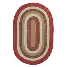 colonial mills brooklyn terracotta oval indoor outdoor area rug common 5 x 8
