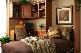 murphy bed office desk. Office With Murphy Bed Home By Day Guest Room Night Desk