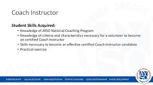 Ayso National Instructor Course Ppt Download