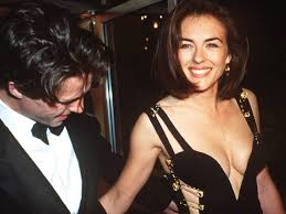 Hugh Grant: Liz Hurley only wore Versace safety-pin dress because she was  snubbed by other designers   The Independent