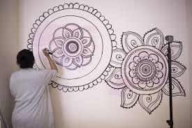 on mandala wall art with diy mandala wall art with a sharpie and no stencils