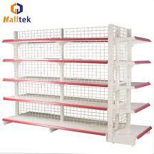 wire mesh display shelving