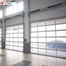 industrial garage door. New Design Industrial Automatic Fiber Glass Perspective Garage Door