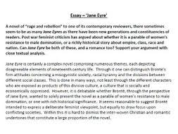 jane eyre essay by poetryessay teaching resources tes assessment essay jane eyre