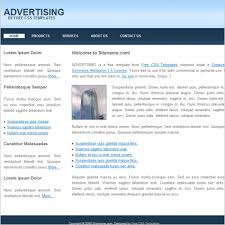 Template For Advertising Advertising Free Website Templates In Css Html Js Format For Free