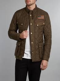 Barbour Quilted Steve Mcqueen Jefferies Jacket in Green for Men | Lyst & Gallery Adamdwight.com