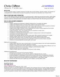 Strong Resume Words Successful Examples Objective Samples