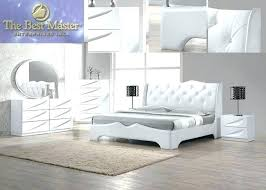 White Lacquer Bedroom Furniture Bedroom Sets Modern Pieces White ...