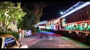 Holiday Lights Train Roaring Camp Railroads 2016 Holiday Lights Train