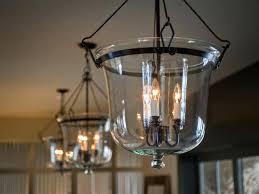 track lighting long hallway foyer light black copper glass lantern chandelier iron center pipe arm hanging