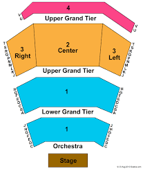 Norton Center For The Arts Newlin Hall Seating Chart