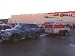 Towing a Uhaul trailer with original Mercedes hitch - MBWorld.org Forums