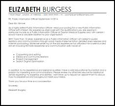 cover letter for press release public information officer cover letter sample cover letter