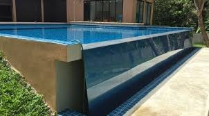 residential infinity pool. Beautiful Pool Infinity Pool Residential Inspirational Swimming Edge Wall  Glass With O