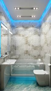 vanity strip lighting. Bathroom Vanity Accent Lighting With Blue Led Strip Light Around Mirror I