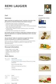 Sous Chef Resume Samples Full Vision Add Souschefresume Example
