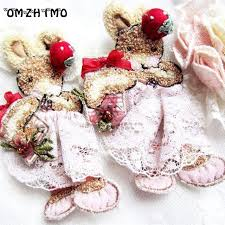 Rabbit Decorative Accessories Handmade DIY zakka craft material garment accessories strawberry 100