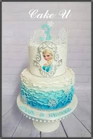 Frozen Themed Cake Cake By Veronica Cake Decorating In 2019