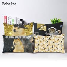 doge follow your dreams. Delighful Dreams Space Doge Follow Your Dreams Durable Soft Custom Rectangle Zippered Throw  Pillow Case With O