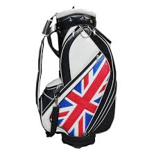china uk flag 9 5 inch pu leather golf bag china golf bag golf staff bag