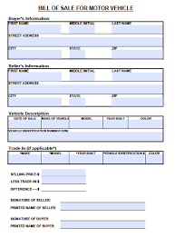 vehicle bill of sale as is free tennessee motor vehicle bill of sale form pdf word doc