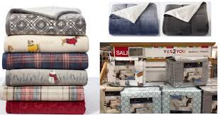 Kohls Throw Blankets Amazing Kohl's Cuddl Duds Sale Super Soft Throw And Flannel Sheets ONLY
