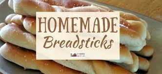homemade breadsticks from scratch