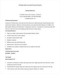 Sales Associate Resume Sales Associate Resume Examples Souvenirs Enfance Xyz