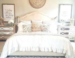 ruffle white bedding cool ideas white bedding decor bedroom with comforter chic bed on peach modern