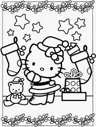 Christmas Cat Coloring Page - creativemove.me