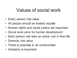 Social Work Values Module 3 Understanding Social Work Ppt Video Online Download