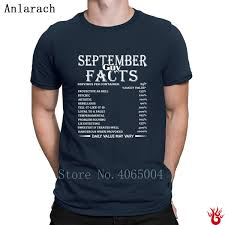 Rebellious One Size Chart Us 13 9 12 Off September Guy Facts Born In September Birthday T Shirt Pattern Sunlight Men Tshirt Summer O Neck Hiphop Casual Original In T Shirts