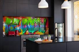 kitchen glass backsplash. Glass Splashback Bebold Artwork In Kitchen By Metro Backsplash H