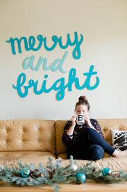 diy holiday wall art decoration