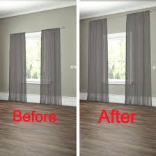 Sugar Cube Interior Basics: How To Properly Hang Drapes