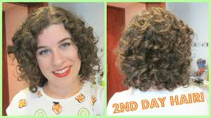 Second Day Curly Hairstyles Updated Second Day Hair Routine Ft Kinky Curly Jessicurl Youtube