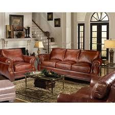 living room leather sets. bristol top-grain vintage leather craftsman living room set sets a