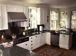 U Shaped Kitchen Small U Shaped Kitchen Layout With Island Desk Design Advantages Of