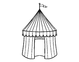 Small Picture Circus tent coloring page Coloringcrewcom