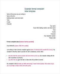 complaint letter examples complaint letter example 12 complaint letter templates free