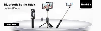 BlitzWolf BW BS3 Sport <b>bluetooth Selfie Stick</b> Extendable Foldable ...