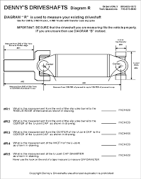 True To Life Chevy Drive Shaft Length Chart Ford F150 Drive
