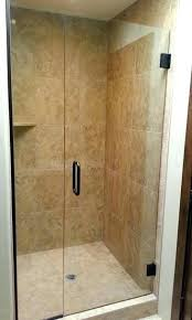seamless glass shower doors degree frameless glass shower doors sizes