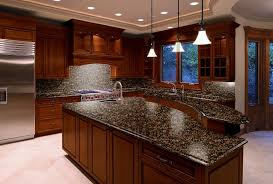 kitchen countertops dark wood cabinets kitchen lighting baltic brown granite countertops texture and charm to the kitchen modern kitchen 4 15