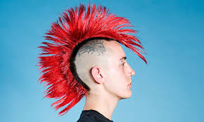 Image result for mohican hair